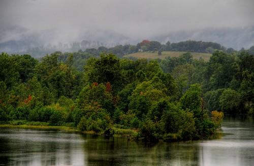 A Late Summer Misty Morn