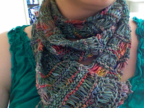 Ribbon Drop Scarf 2