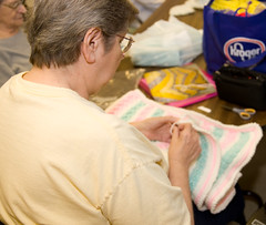 Quilter Group Donates to Red Cross Rock River Chapter