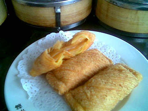Sibu's Mitsu durian pastry - inside