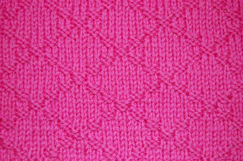 Double Knitting Stitches Per Inch : 02. Simple Knit-Purl Combinations The Walker Treasury Project Page 4