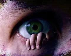 Fear terror eye