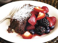 Fallen Chocolate Cake, MyLastBite.com