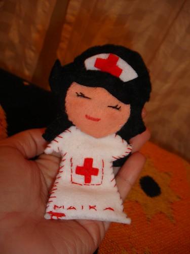 Maika en mis manos