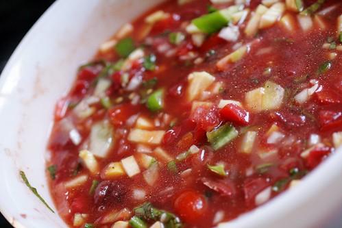 Use Em Up Summer Soup