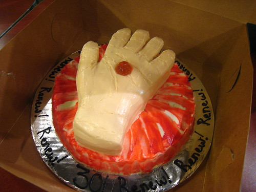 Logan's Run Birthday Cake