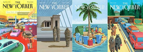 Bruce McCall New Yorker Covers