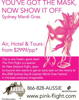 Sydney Mardi Gras Trip