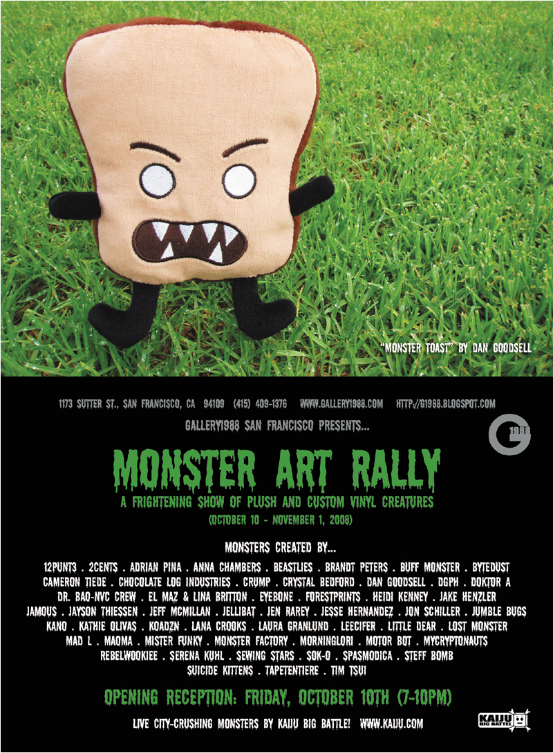 MONSTER ART RALLY