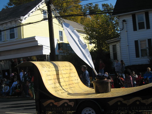 Constitution float