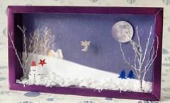 Christmas Scene in a Box