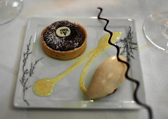 11th Course: Tarte Souffle au Chocolat du Perou