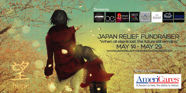 Japan Relief Fundraiser Poster