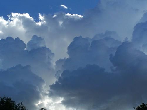clouds in summer...