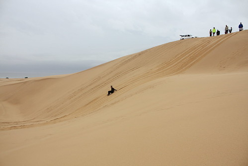 Stockton Beach Sandboarding