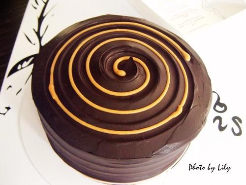 焦糖巧克力香蕉蛋糕