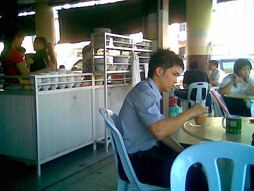 Sibu's Soon Hock Cafe kampua stall
