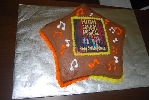 Grace's HSM BDay Cake