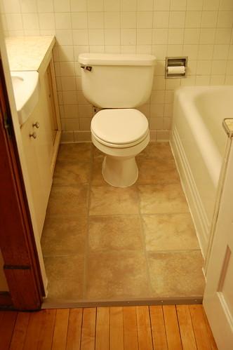 Bathroom Floor (After)