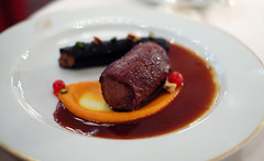 3rd Course: Saddle of Venison