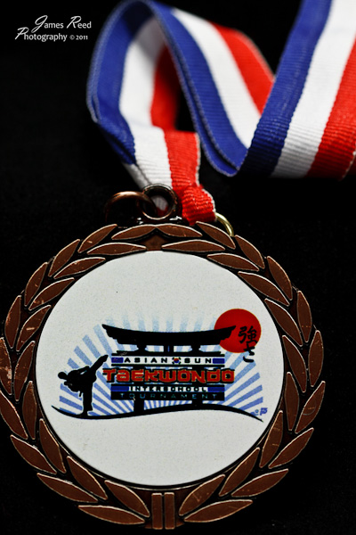 Third place medal.