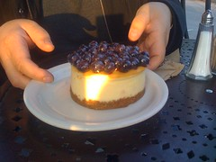 Blueberry cheesecake @ Urth
