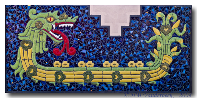 Dragon Boat Mosaic