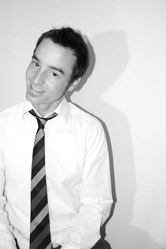 Cutie pie in a tie