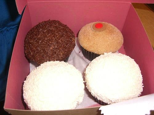 Sprinkles Cupcakes - Peanut Butter Chocolate, Cinnamon Sugar and Vanilla
