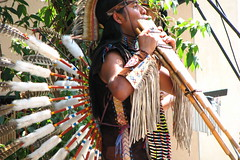 Feathers and flute