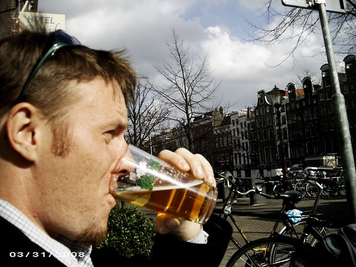 Thats me in Amsterdam