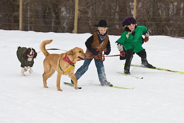 The Doggie Dash in Winthrop
