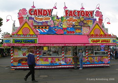 Candy factory at 2008 Sacramento County Fair