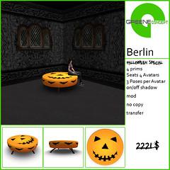 GREENE concept Halloween Special Berlin