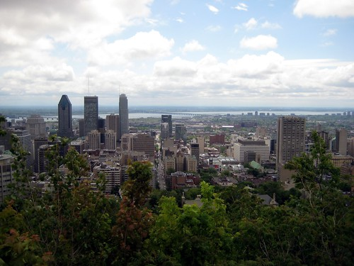 Montréal from the Mont-Royal