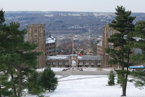 Cornell campus, Ithaca, NY