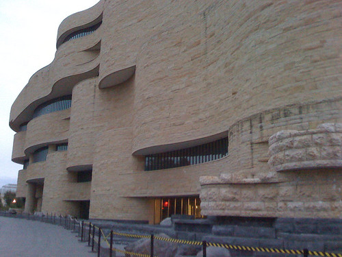 National Museum of the American Indian in Washington DC - Taken With An iPhone