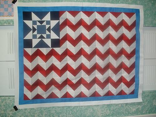 Patriotic Quilt Top