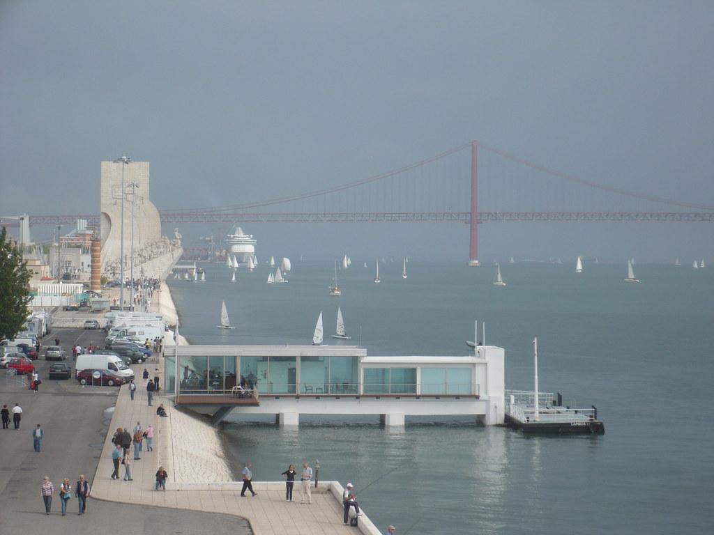 el Tajo desde la Torre de Belém