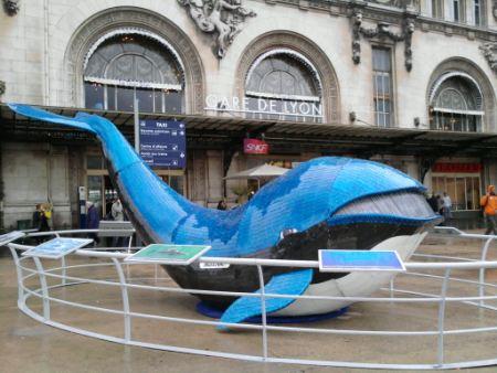 Baleine Gare de Lyon Paris