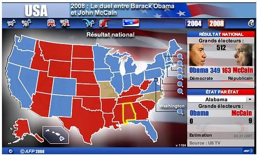 Les résultats des élections américaines by you.