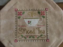Inside the bourse... Little House Needleworks' Spiced Tea
