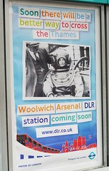 Woolwich Arsenal DLR Coming Soon