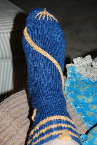Cleopatra sock