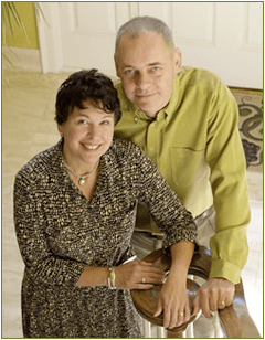 Ann Francke & Barry King, Founders of Beautorium Natural & Organic Beauty Emporium