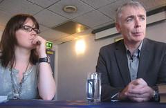 Adele Minchin and Eoin Colfer