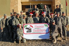 Holiday greetings from Camp Ramadi