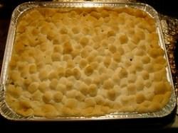 Baking Sweet Potato Casserole (After)