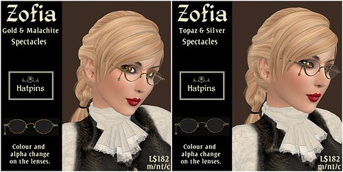 Hatpins - Zofia Spectacles