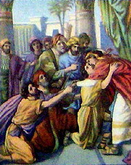 Joseph Forgiving His Brothers by returntogodsgarden